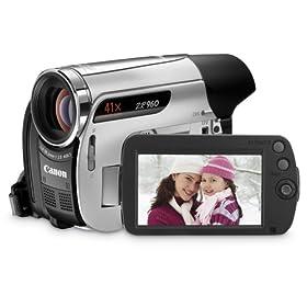 Canon ZR960 MiniDV Camcorder w/41x Advanced Zoom - 2009 MODEL