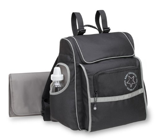 Jeep Diaper Bags Jeep TREND SPORT Back pack Diaper Bag (Black / Grey)