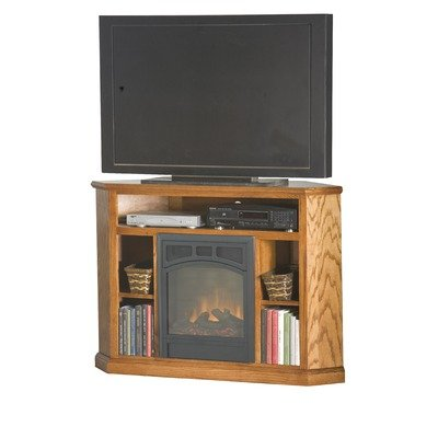 CORNER TV STAND ELECTRIC FIREPLACE | EBAY
