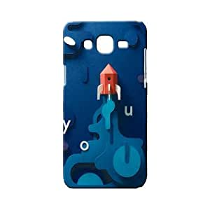 BLUEDIO Designer 3D Printed Back case cover for Samsung Galaxy ON7 - G4390