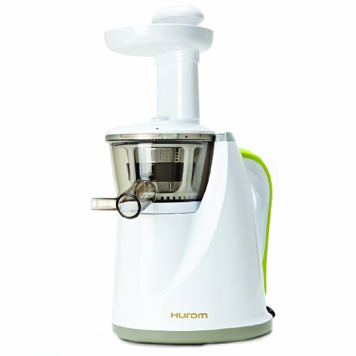 Lowest Prices! Hurom HU-100 Masticating Slow Juicer,  White