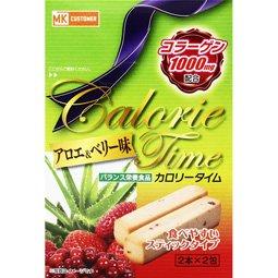 MKF カロリータイム アロエ&ベリー味 2本×2包