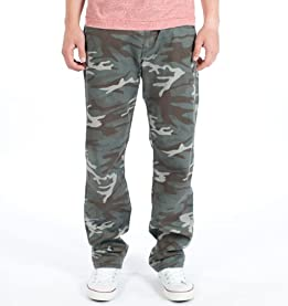 Hayes Camo Straight Leg Pants