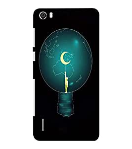 EPICCASE Top of World Mobile Back Case Cover For Huawei Honor 6 Plus (Designer Case)