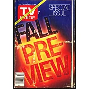 TV Guide Fall Preview Special Issue September 11-17, 1982 TV Guide