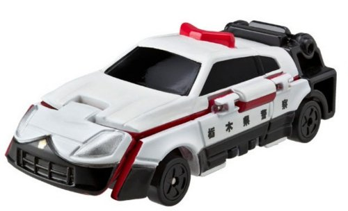 Bandai VooV FR07 Transforming Toy Car [Nissan Fairlady Z Roadster - Police Car] (Nissan Z Toy Car compare prices)