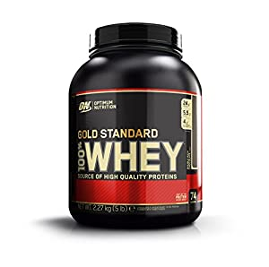 Optimum - Nutrition Protéine - 100% Whey - Gold Standard - Double Chocolat - 2,2 kg