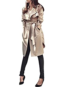 Komene Women's Elegant Long Sleeve Op…