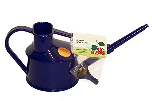 Bosmere V127DB Haws Indoor Plastic Watering Can, Dark Blue (Blue Watering Can compare prices)
