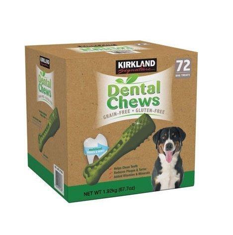 3-Packs-Kirkland-Signature-Dental-Chews-72-Dog-Treats