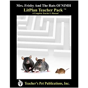 Mrs. Frisby and the Rats of NIMH LitPlan Teacher Pack (CD)