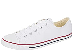 Converse Chuck Taylor All Stars Dainty Womens Shoes UK 3 White