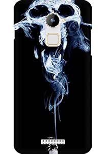 AMEZ designer printed 3d premium high quality back case cover for Coolpad Note 3 Lite (smoke)