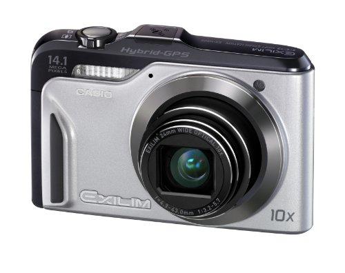 Casio Exilim EX-H20G Digital Camera - Silver (14.1MP, 10x Optical Zoom) 3 inch LCD