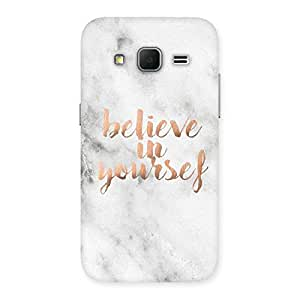 Belive in Yourself Printed Back Case Cover for Galaxy Core Prime
