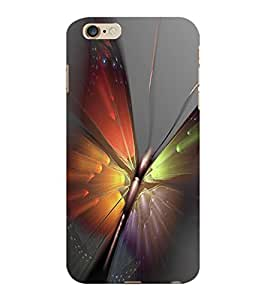 ColourCraft Amazing Butterfly Design Back Case Cover for APPLE IPHONE 6 PLUS