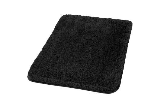 kleine wolke 5405926360 badteppich relax 60 x 100 cm schwarz. Black Bedroom Furniture Sets. Home Design Ideas