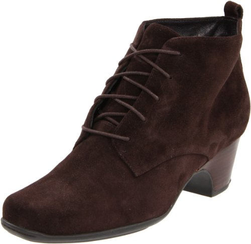 Clarks Women's Leyden Bell Boot,Dark Brown Suede,6.5 M US