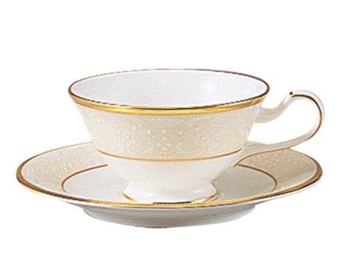 Noritake(ノリタケ) ボーンチャイナ ホワイトパレス ティー・コーヒー碗皿 (1客) T59587/4753
