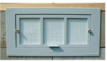 Energy Efficient Crawl Space Vent front-249672