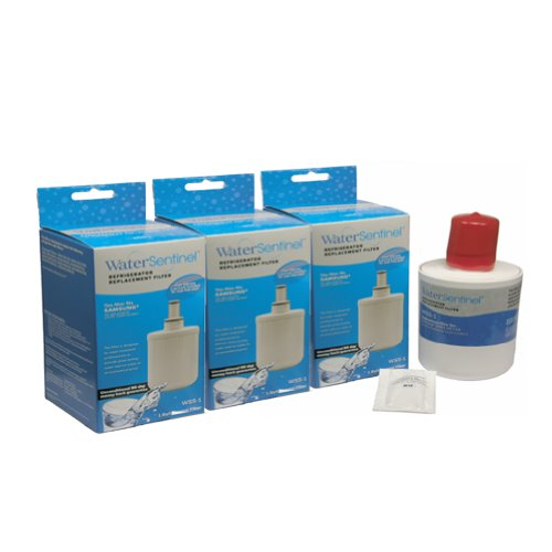 Water Sentinel WSS-1 Replacement Fridge Filter, 3-Pack
