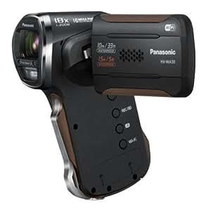 Panasonic HX-WA30EF-K Caméscope de poche Port SD/SDHC 16,4 Mpix Zoom Optique 5 x Wifi Etanche Noir