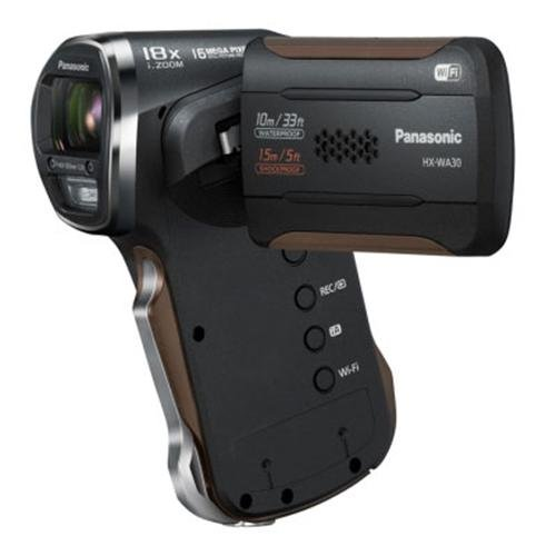 HX-WA30 high-definition camcorder - black