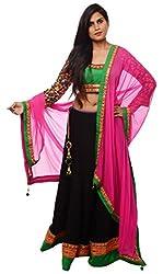 NK Women's Cotton Lehenga Choli (Multi-Coloured, 40)