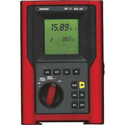 Ground Resistance Tester - GP-2 - Amprobe - AM-GP-2 - ISBN: B000N4ZTVS - ISBN-13: 0781339119402