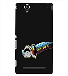 PrintDhaba Daft Punk D-1192 Back Case Cover for SONY XPERIA T2 ULTRA (Multi-Coloured)