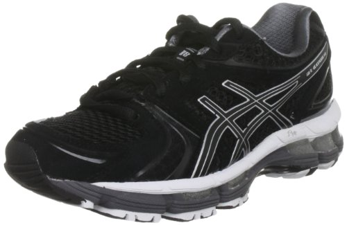 ASICS Women's Gel Kayano Black/Onyx/White Trainer T250N 9099 8 UK