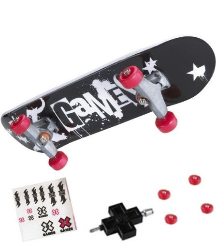 Killer Terror Clowns Design X Games Finger Skate Board - 1