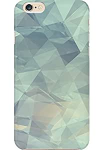 AMEZ designer printed 3d premium high quality back case cover for Apple iPhone 6 (crushes geometric pattern )