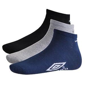 Umbro 3er, 6er, 9er oder 12er Pack Sneaker Socken Schwarz, Weiß, Mix 40-46 / 12er Pack Mix, 40-46