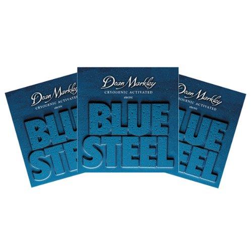 Dean Markley 7 String Guitar Electric Strings-Blue Steel Electric - Cl 9-56 -3Pk