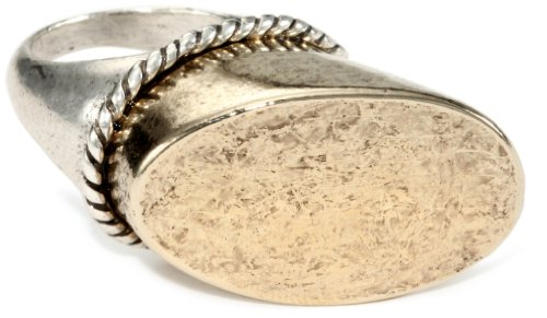 Low Luv by Erin Wasson Tall Horse Hoof Ring, Size 7