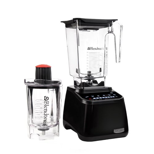 Blendtec 1003233 Designer Series Blender With Wildside And Twister Jar, Black
