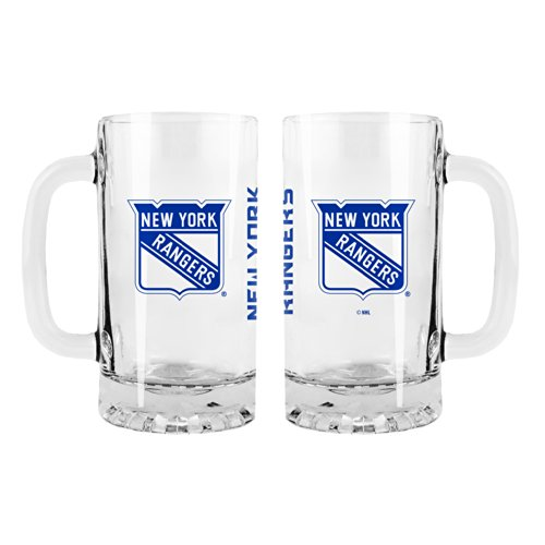 NHL New York Rangers Game Day Tankard, 16-ounce, 2-Pack (Ny Rangers Wine Glass compare prices)
