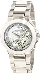 Ed Hardy Women's AT-WH Athens White Watch