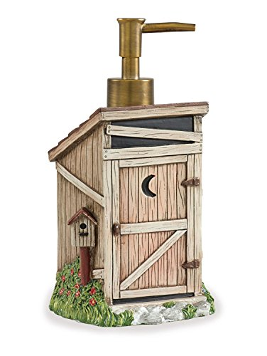 Country outhouse bathroom decorating ideas involvery for Park designs bathroom accessories