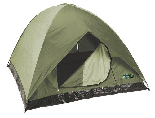 Stansport Hunter Series Trophy Hunter Tent (Forest Green/Tan, 7-Feet X 7-Feet X 54-Inch), Outdoor Stuffs