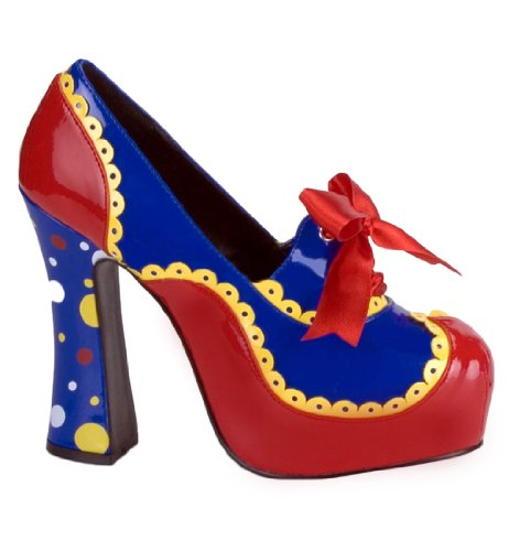 Colorful Clown Heels For Women