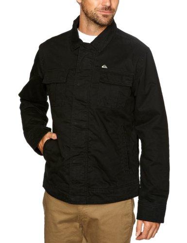Quiksilver Gunz Jacket-KPMJK072 Men's Jacket Black X-Large