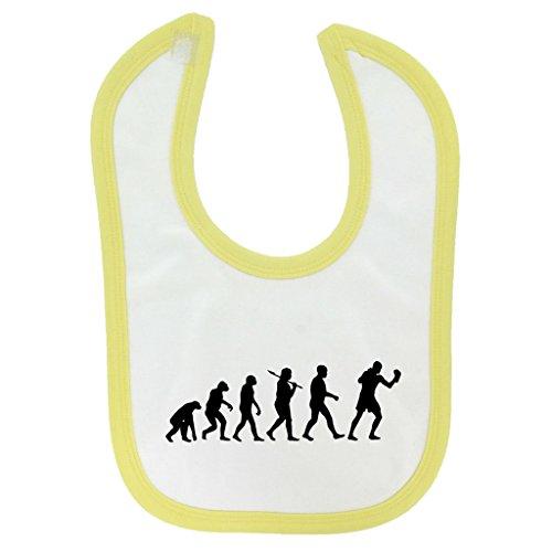 evolucion-de-boxeo-diseno-bebe-babero-con-amarillo-contrast-trim-y-impresion-en-negro