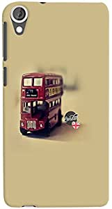 PrintVisa 3D-HTCD820-D8122 Travel Bus Case Cover for HTC Desire 820