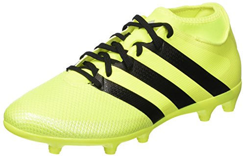 Adidas Ace 16.3 Primemesh Fg/Ag Scarpe da Calcio Uomo, Giallo (solar Yellow/core Black/silver Metallic), 43 1/3 EU
