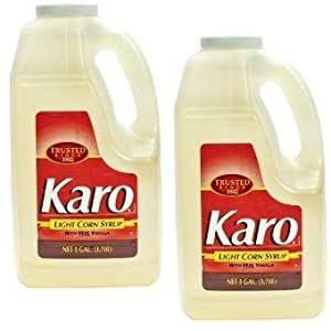 Karo light corn syrup 128 ounce pack of 2 for Cuisine karo