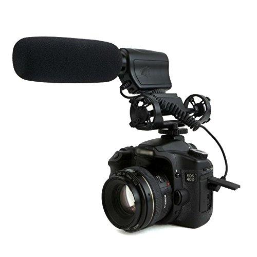 Dolica MIC-100 High-Sensitivity Directional Shotgun Condenser Microphone (Black) (Shotgun Mic Condenser compare prices)