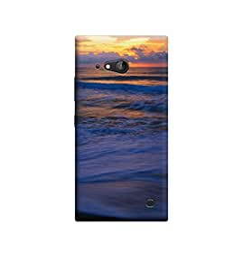 Ebby Premium Printed Back Case Cover With Full protection For Nokia Lumai 730 (Designer Case)