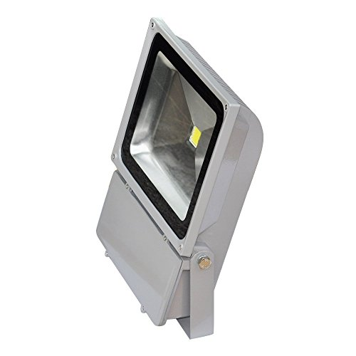 Tdltek 70W Led Waterpoof Outdoor Security Floodlight 100-240Vac, White,
